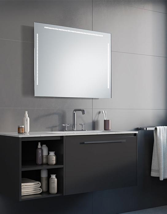 Lustro łazienkowe Power Points Led Z Oświetleniem Led
