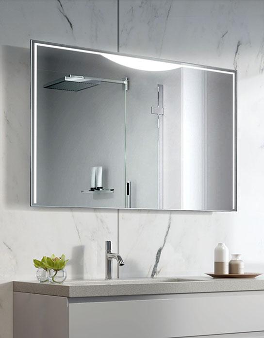Lustro łazienkowe Selene Led Z Oświetleniem Led