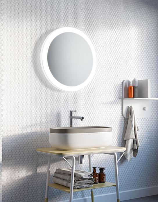 Lustro łazienkowe Volante Led Z Oświetleniem Led