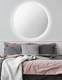 Lustro LED SCANDINAVIA White