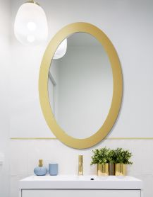 Lustro OVAL BOLD Gold