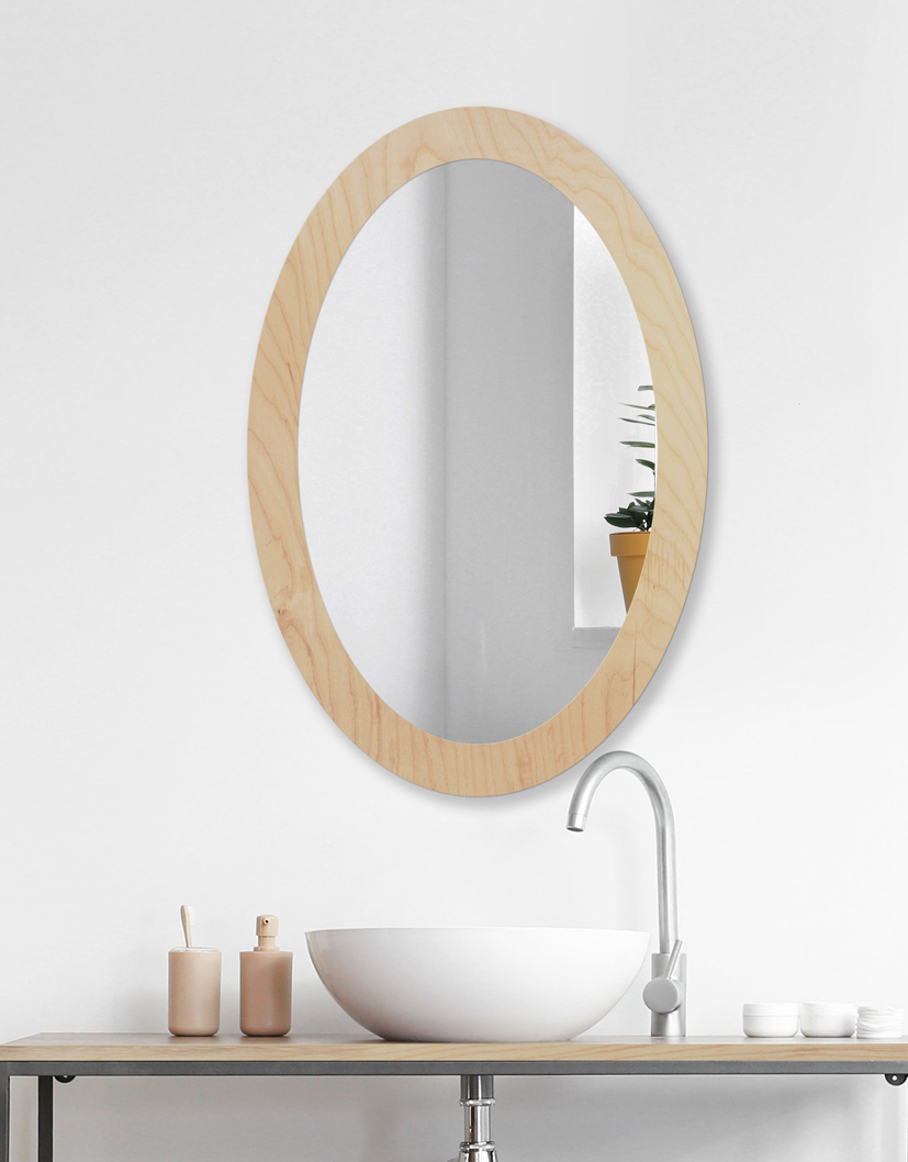 Lustro OVAL BOLD Natural